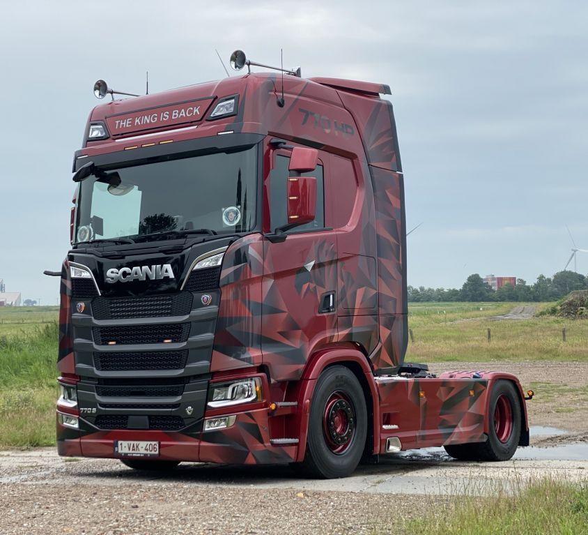 Aflevering Scania 770S Koen Trans