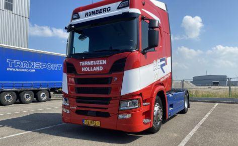 Aflevering A.C. Rijnsberg Transport Scania R450 4×2