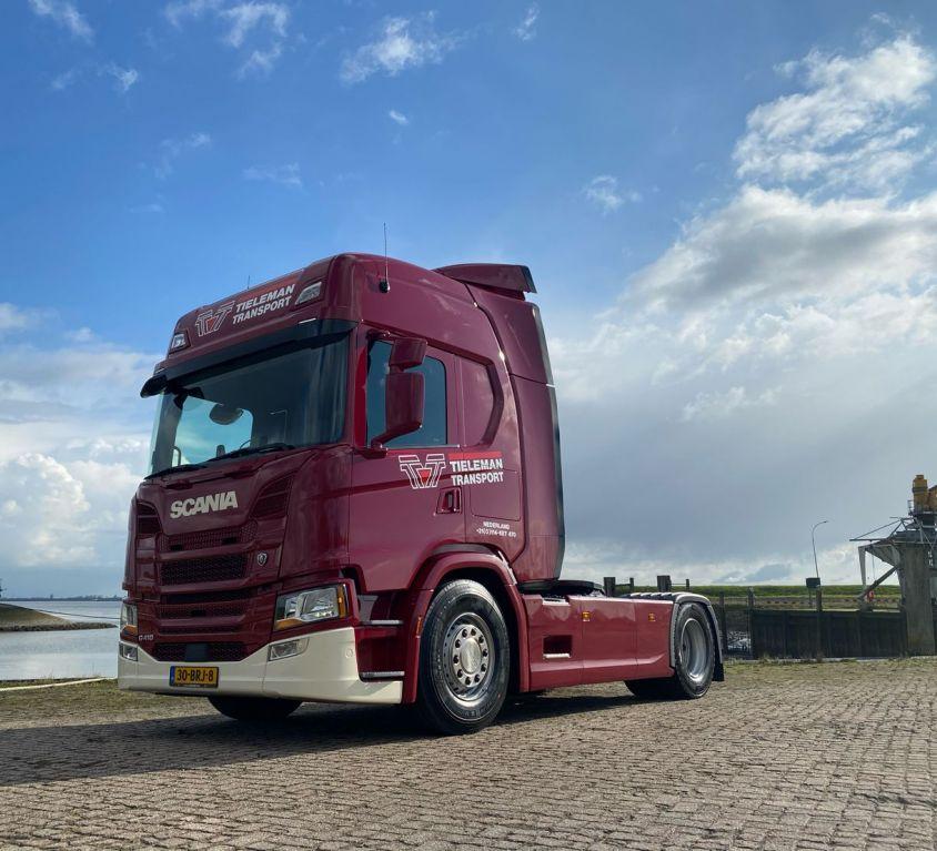 Scania G410 4×2 Tieleman Transport