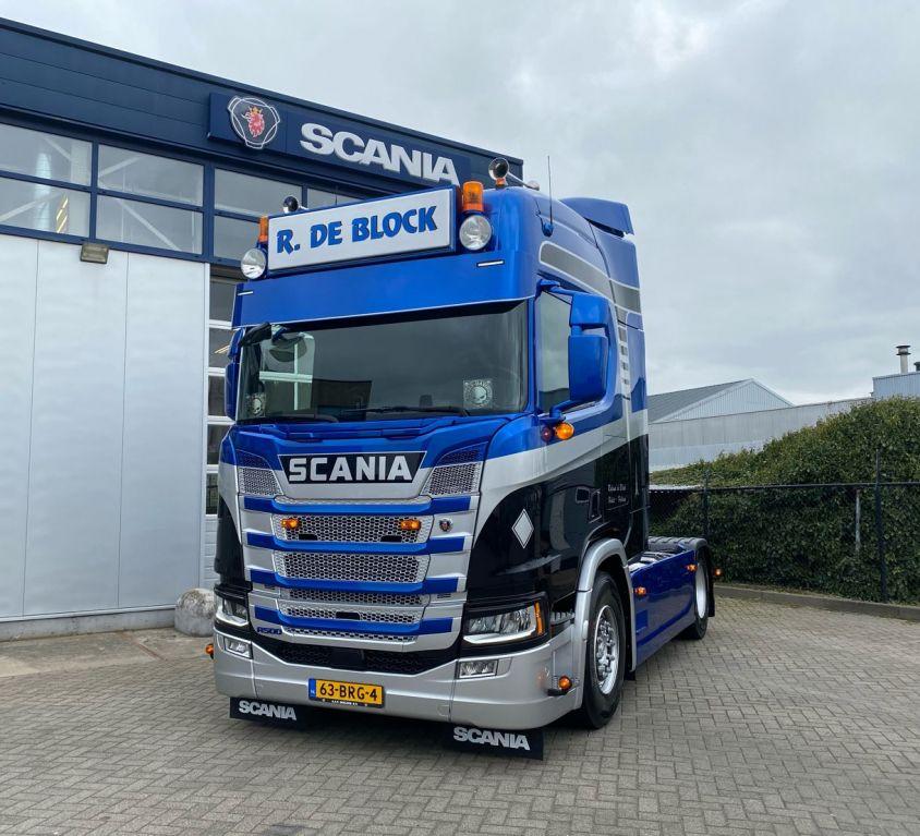 Scania R500 4×2 Ronald de Block