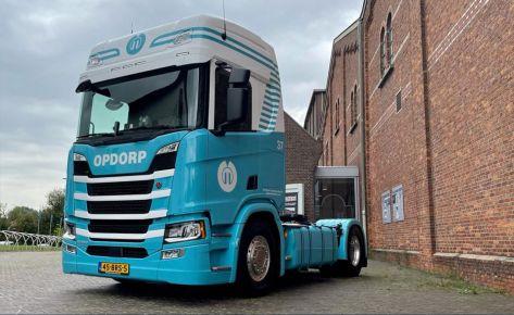 Aflevering Scania Van Opdorp Transport