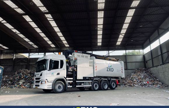 Aflevering Scania P410 8×2/*6 Zeeuwse Reinigingsdienst