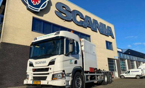 Scania XT P320 6×2 4